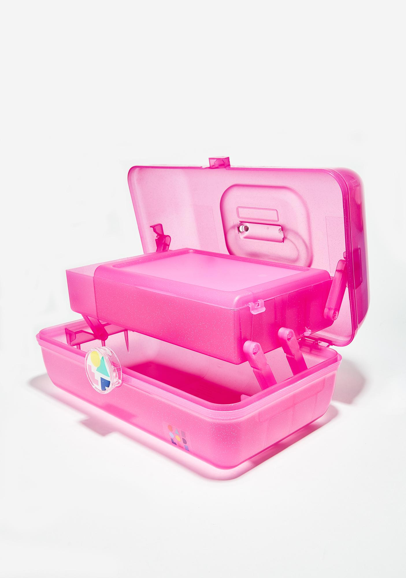 Caboodles Hot Pink On-The-Go Girl Case