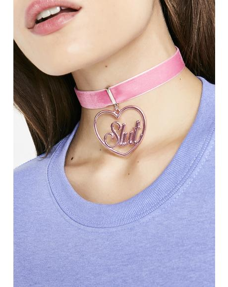 Bare Elite Slut Choker