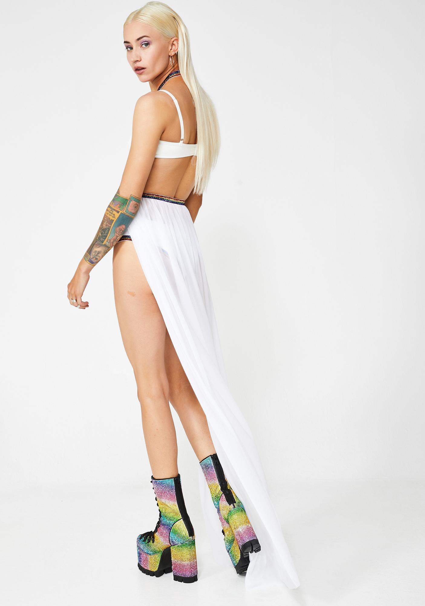 J Valentine Freaky Spellbound Harness Skirt