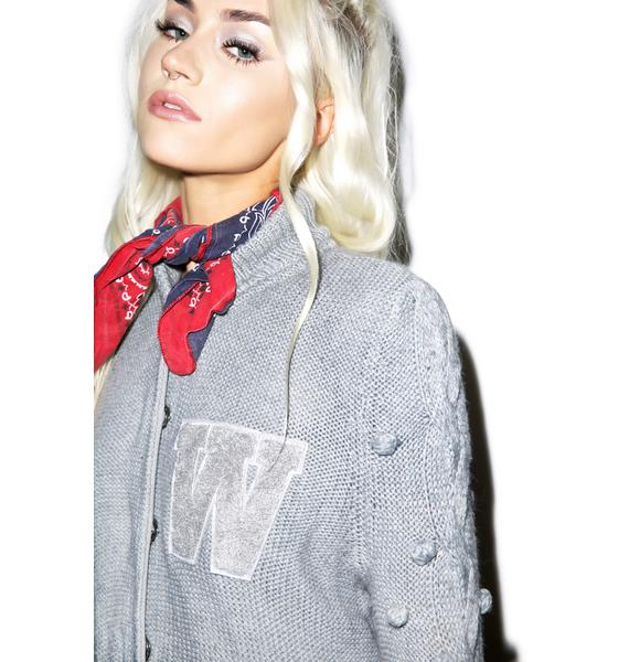 Wildfox Couture Letterman Sweater