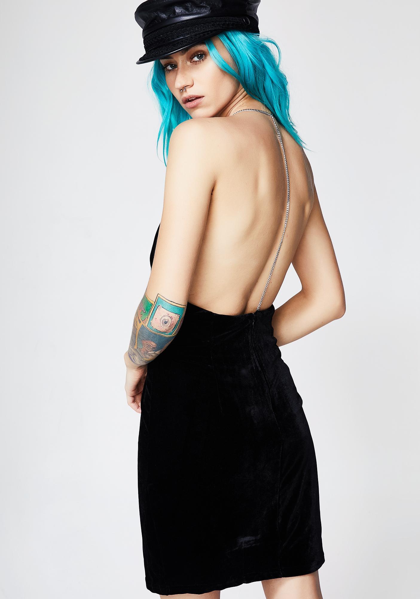 Unforgettable Velvet Mini Dress