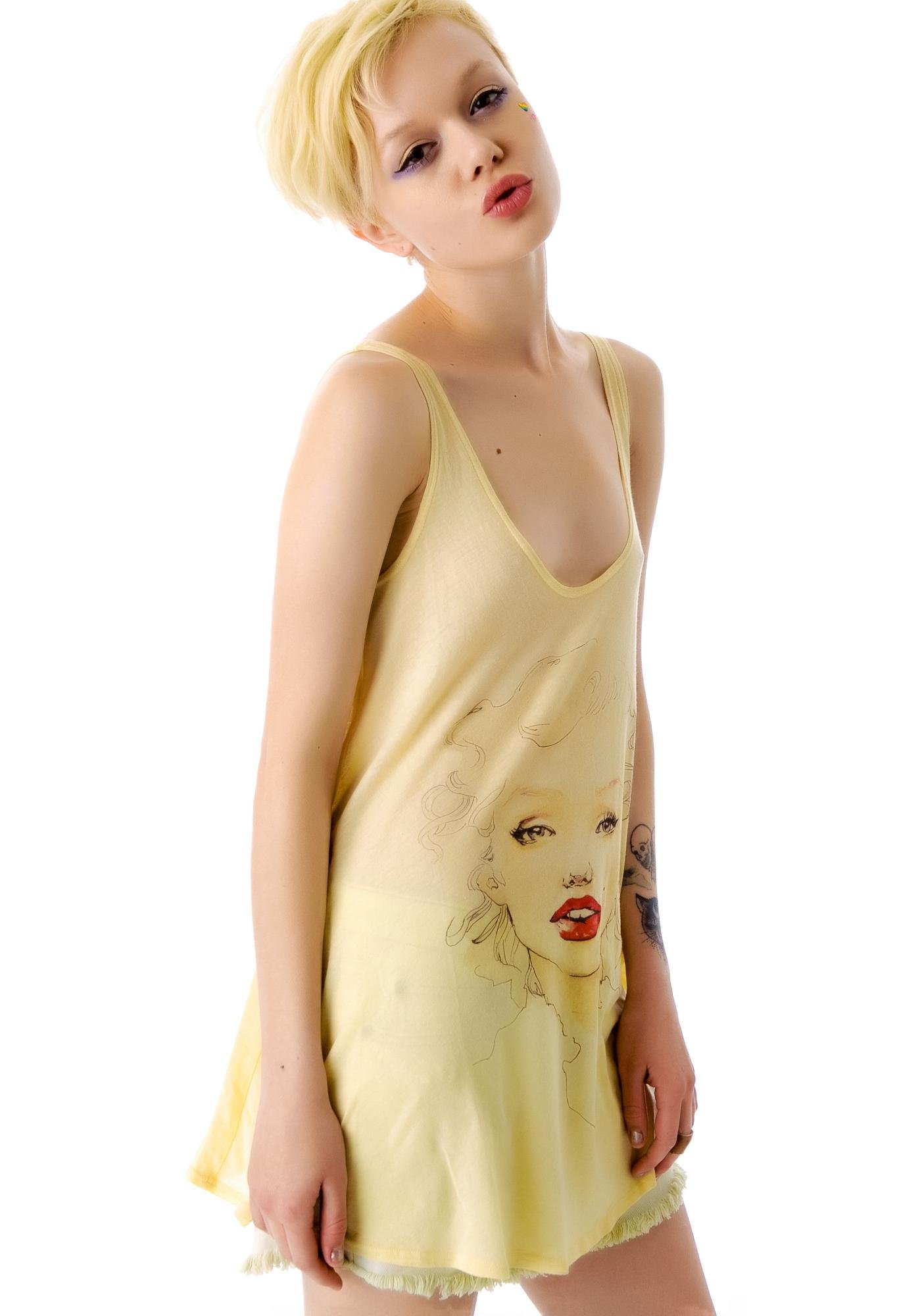 Wildfox Couture Marilyn Indiana Tank