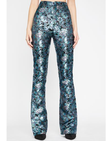 Impure Evening Shadows Brocade Pants