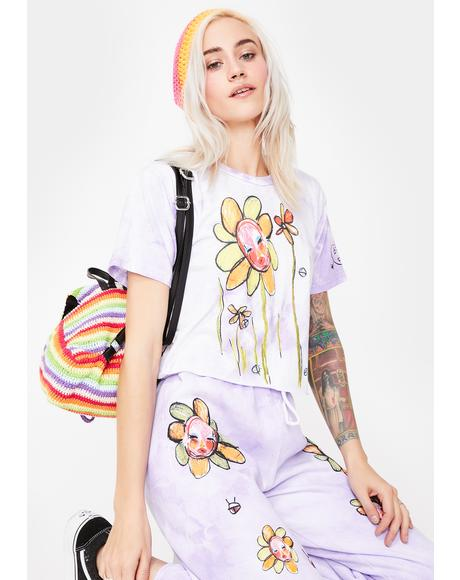 X Dessie Jackson Wildflowers Graphic Tee