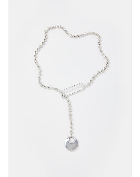 Make It Thru Lariat Necklace
