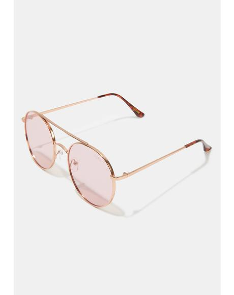 Scoop Rose Pink Sunglasses