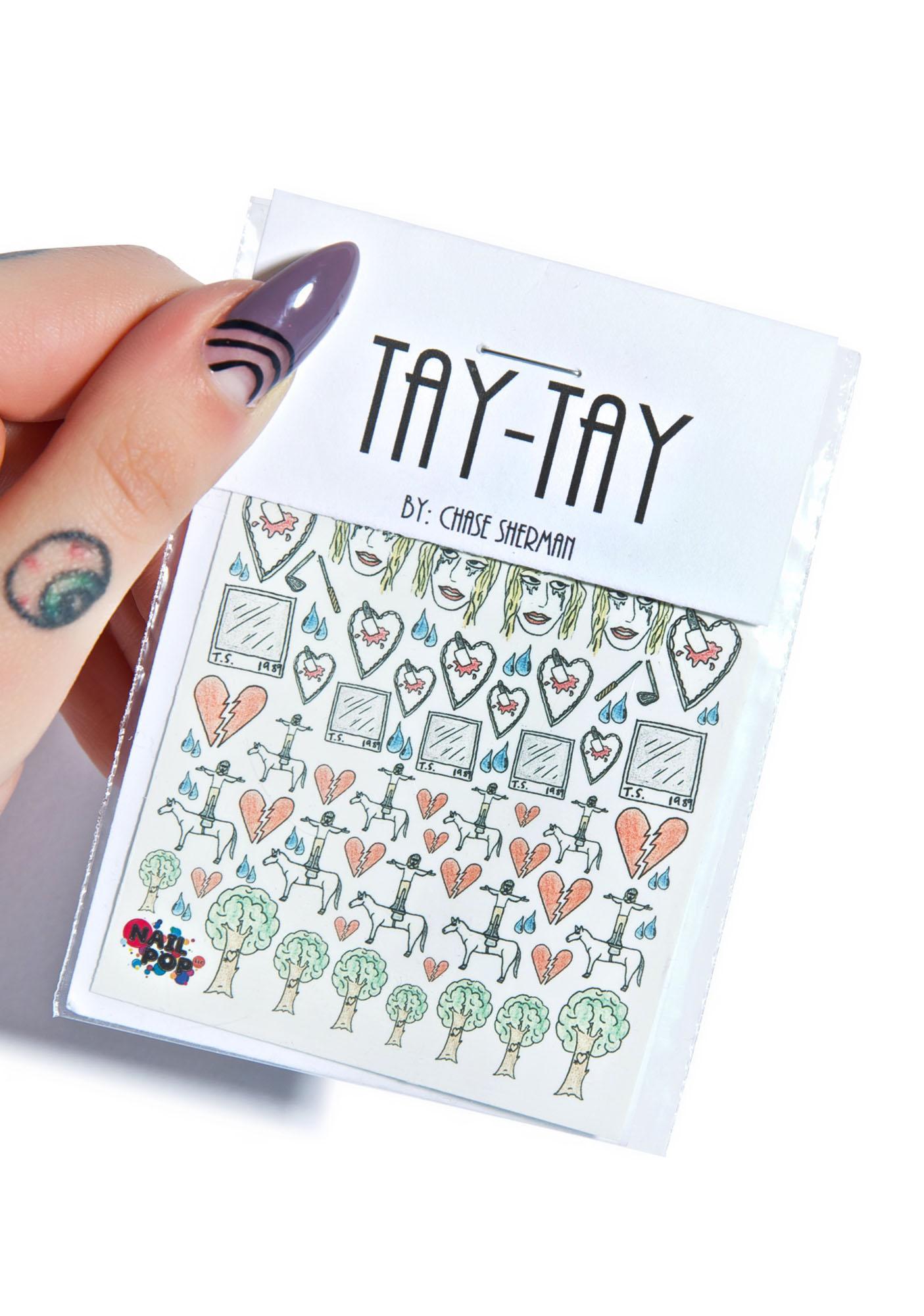 Nail Pop Tay-Tay Nail Decals