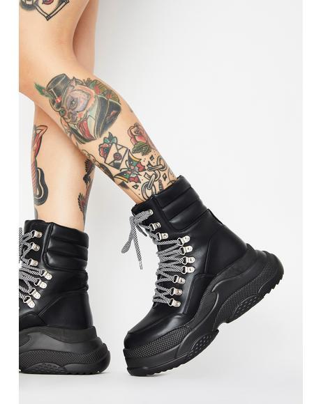 Controlla Platform Boots