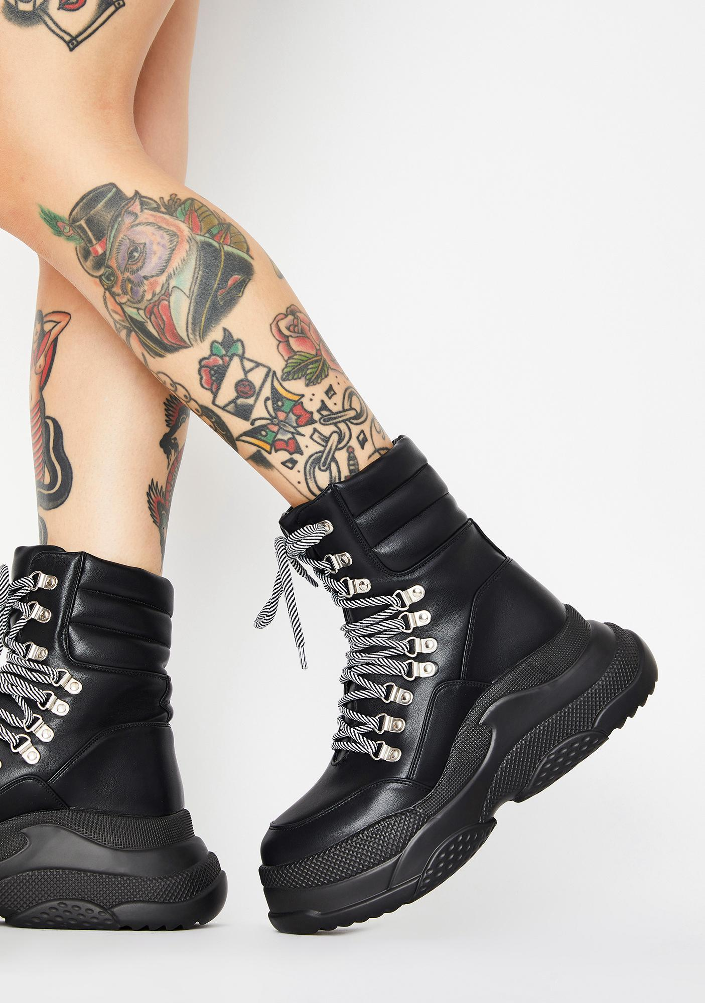 Lamoda Controlla Platform Boots