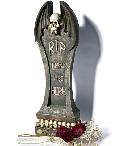 Morticia Gravediggers Tombstone