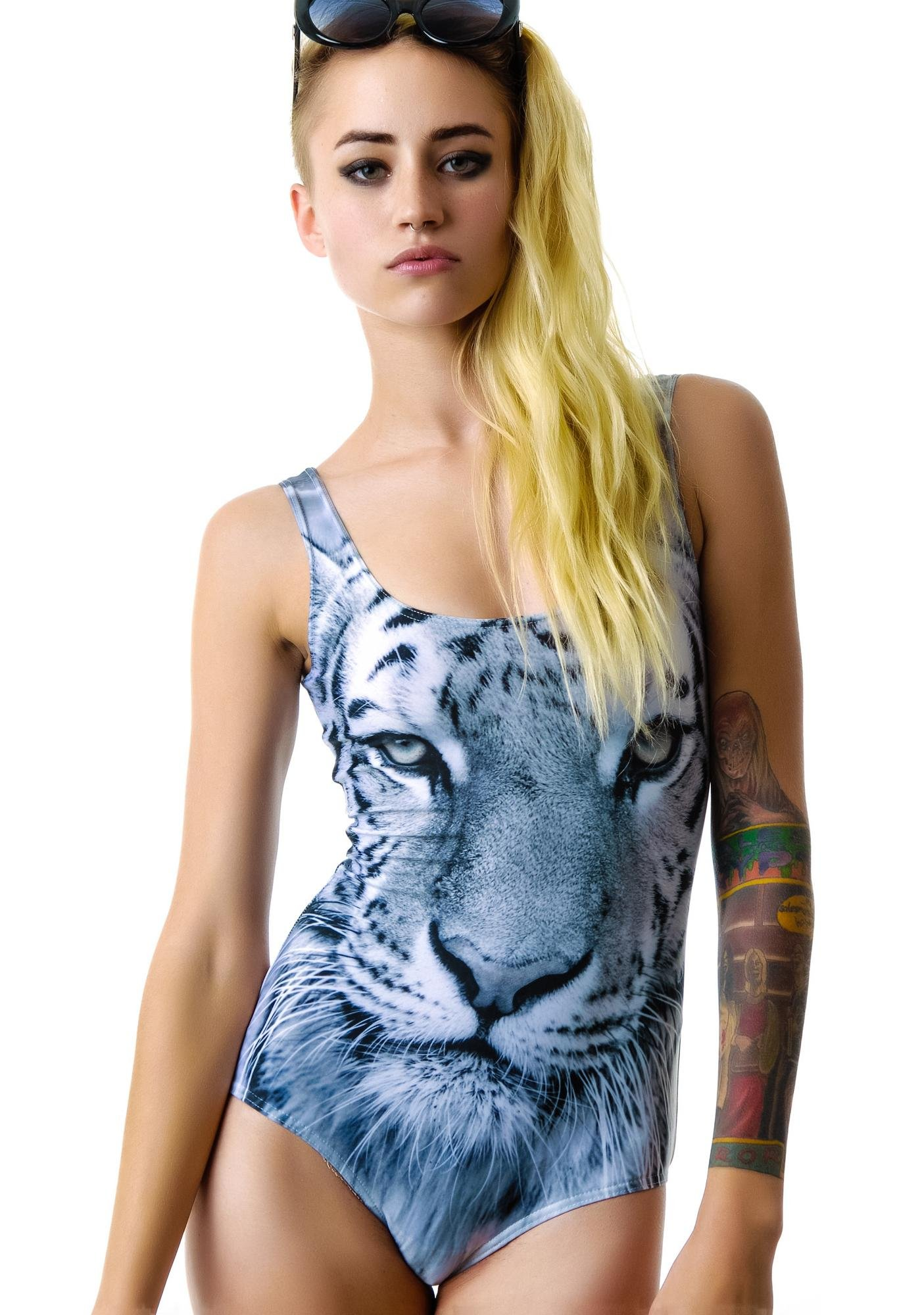 BamBam Eye of the Tiger Bodysuit