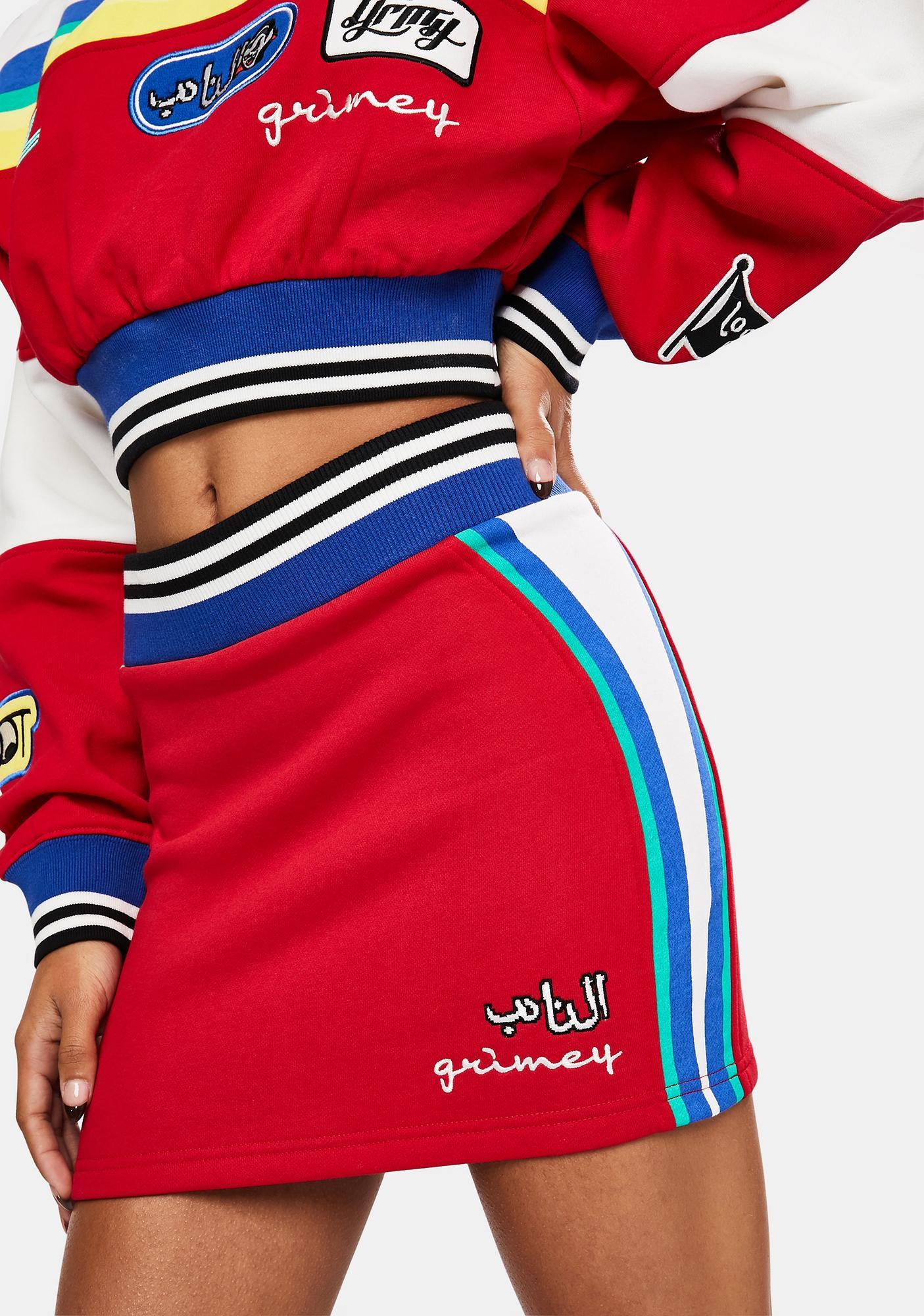 GRIMEY Arch Rival Mini Skirt