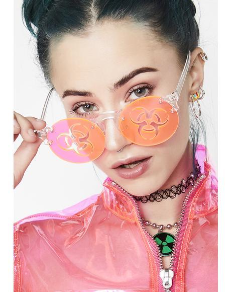 Stranger Danger Biohazard Sunglasses