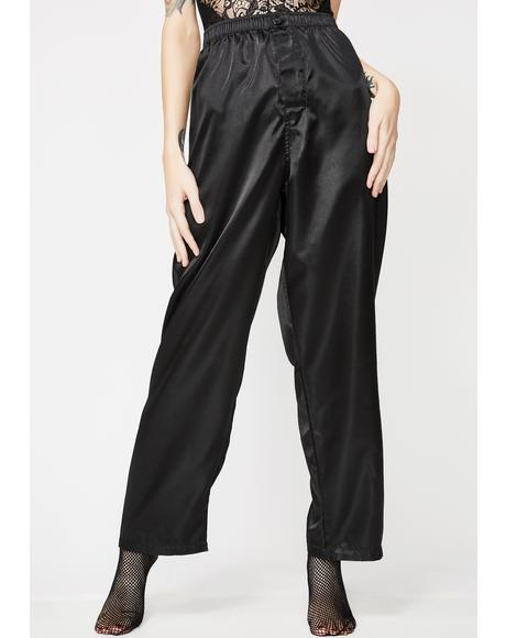 Tell The Truth Satin Pants