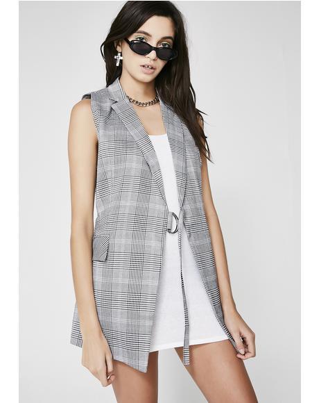 Show Em' Class Plaid Vest