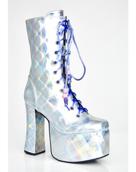Astral Magic Hologram Boots