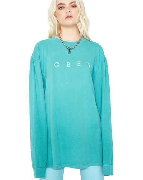 Novel Obey Long Sleeve