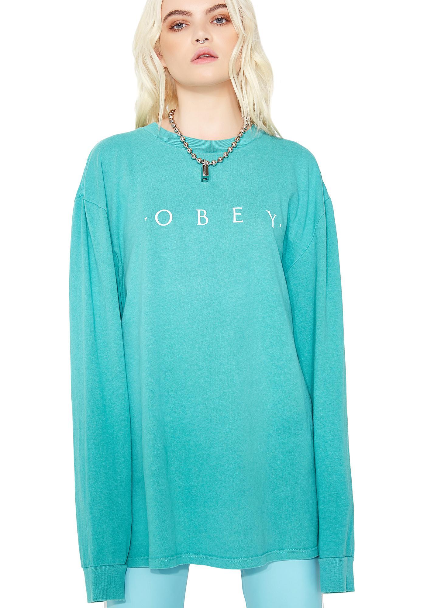 Obey Novel Obey Long Sleeve