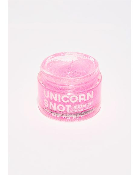 Unicorn Snot Pink Glitter Gel