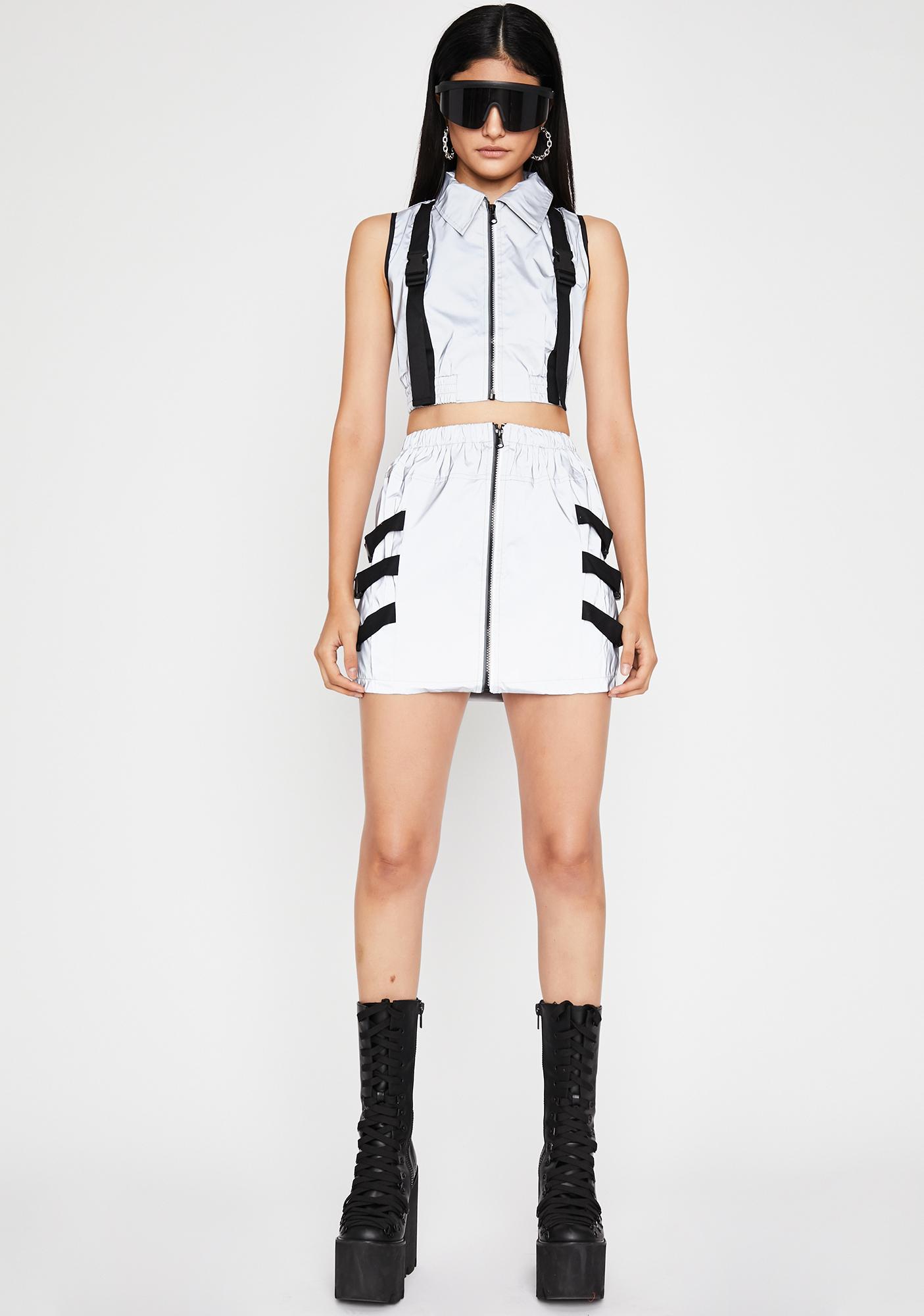 Nuclear Neptune Skirt Set