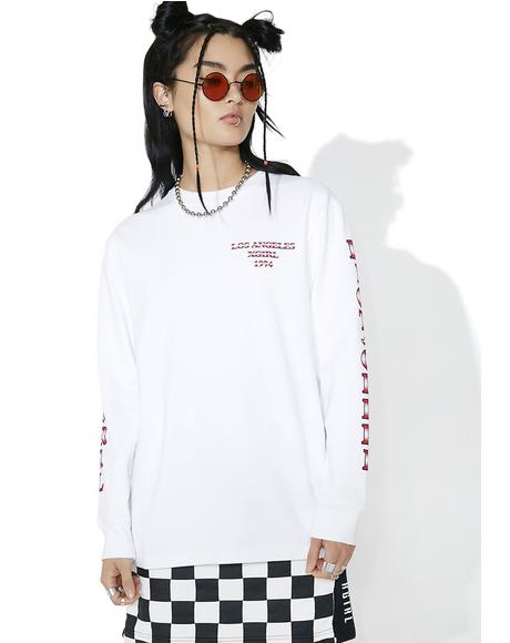 Riot Grrl Long Sleeve Tee