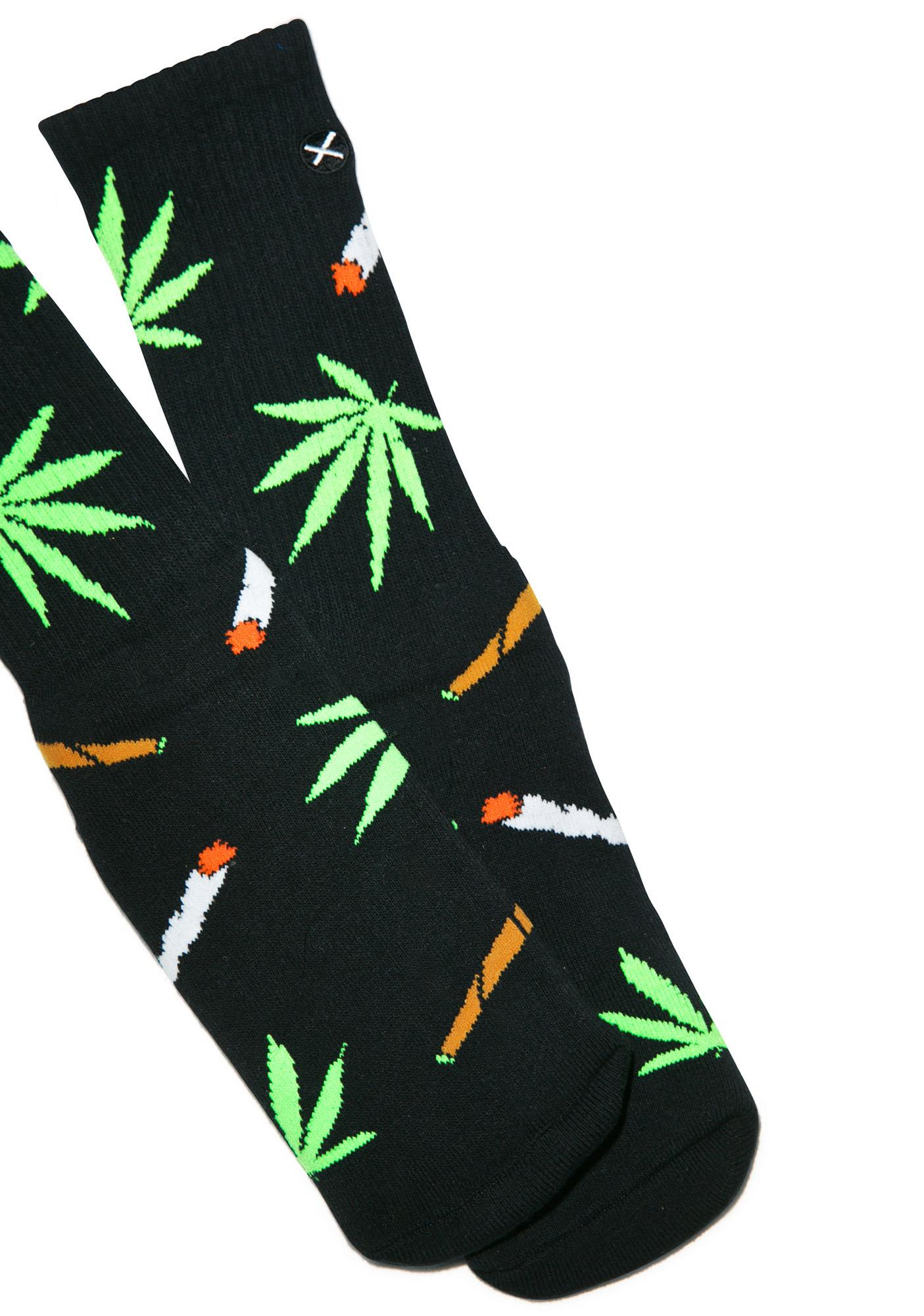 Odd Sox Weedies Socks