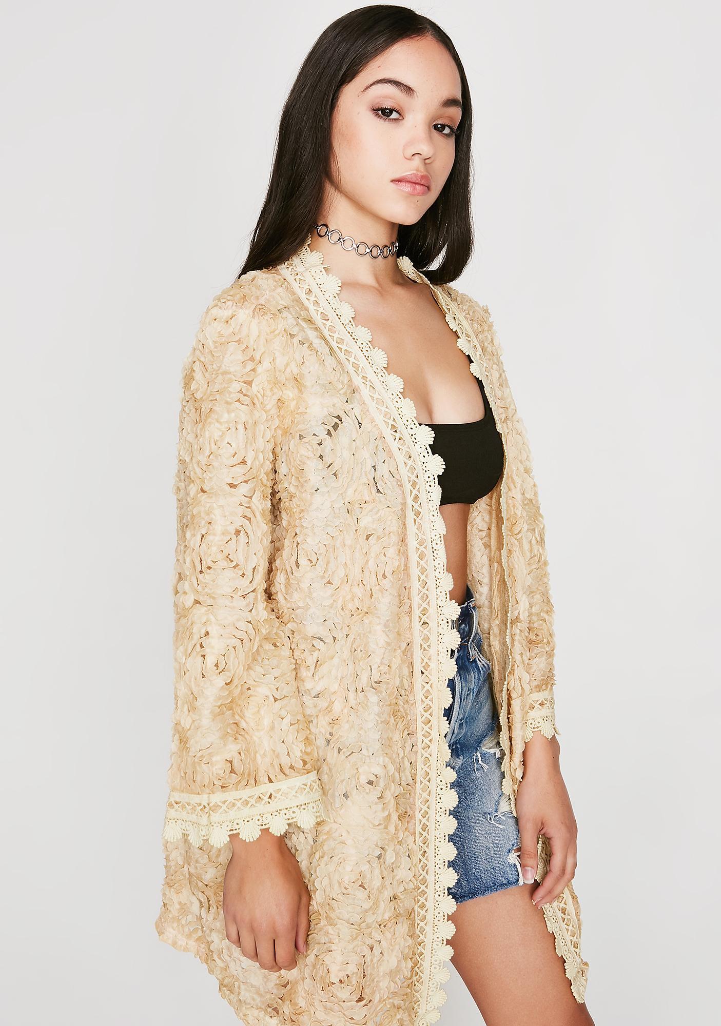 Pushin' Petals Kimono
