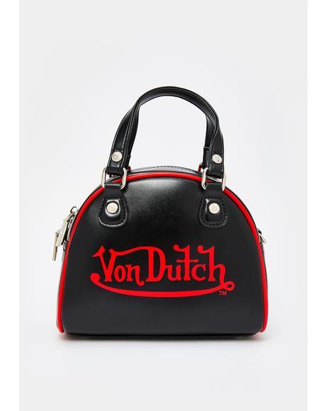 Black Small Bowling Bag