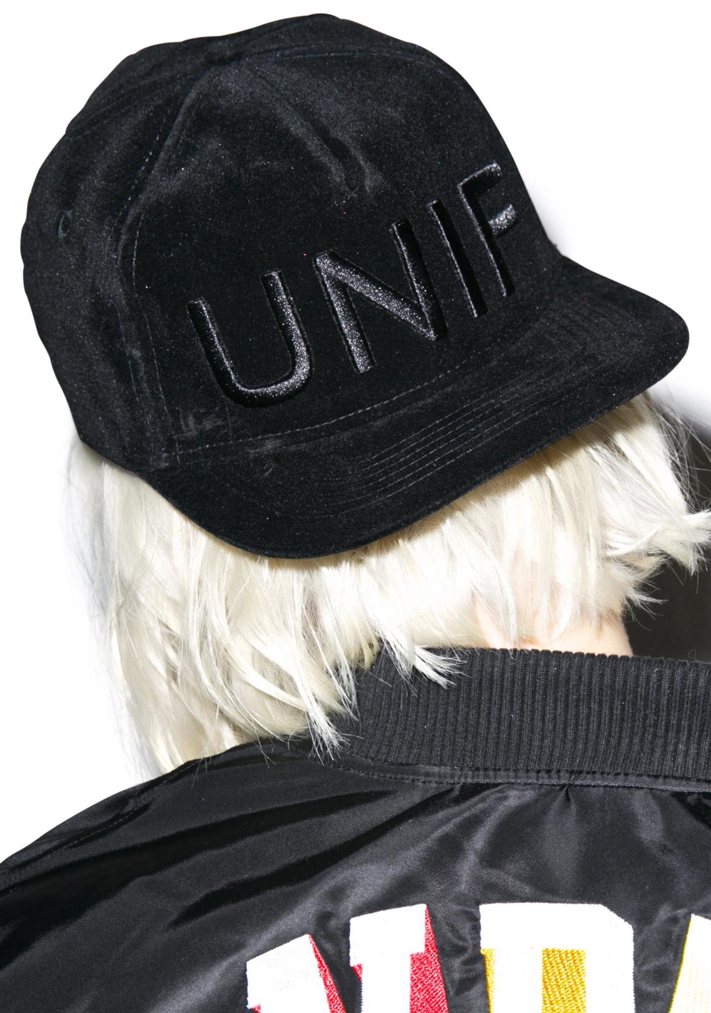 UNIF Velvet Hat