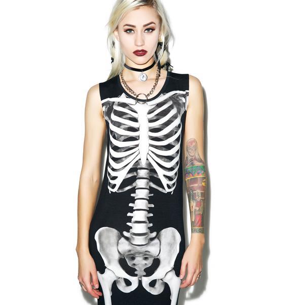 Killstar Skeletor Maxi Dress