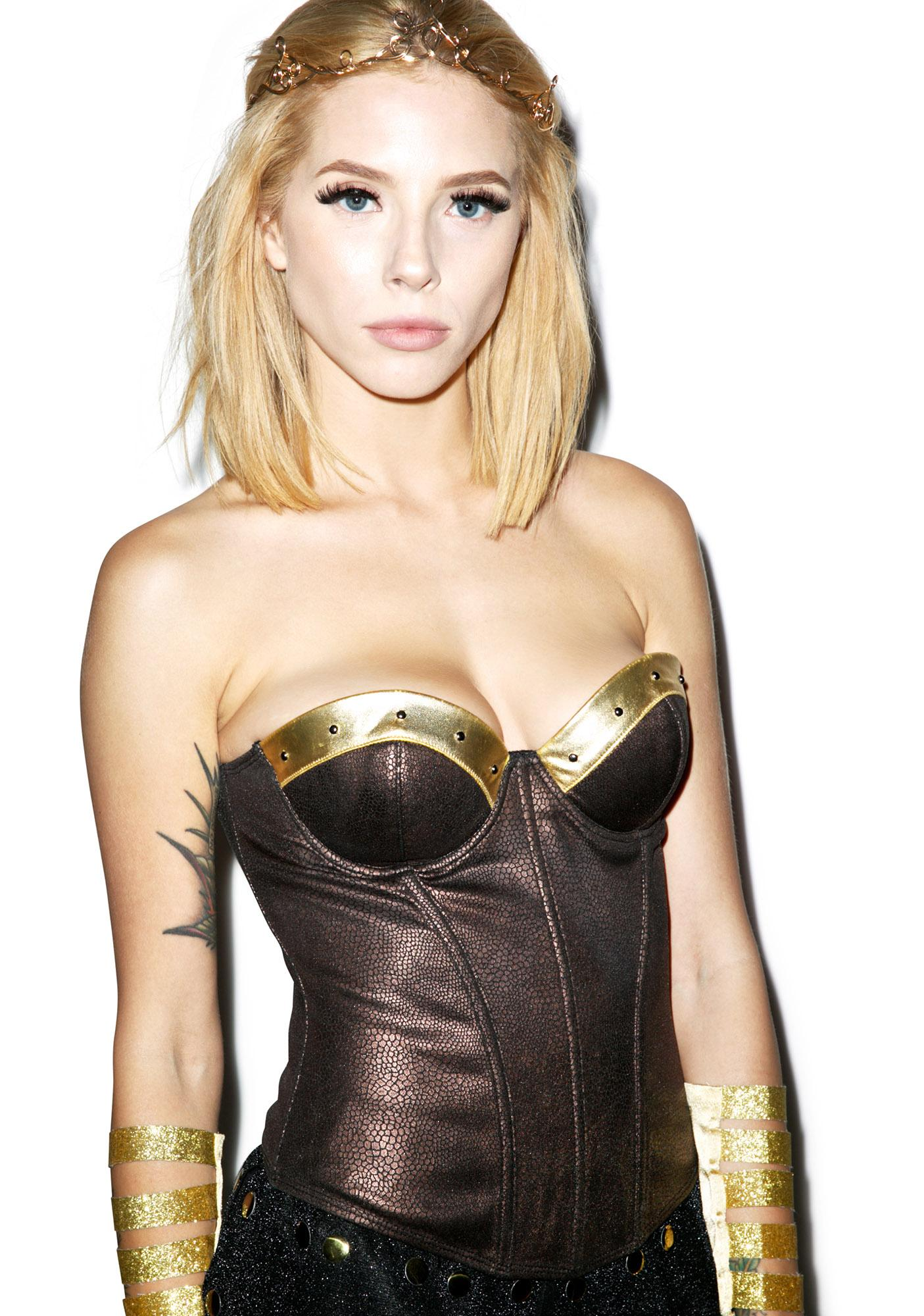 Barbarian Babe Bustier