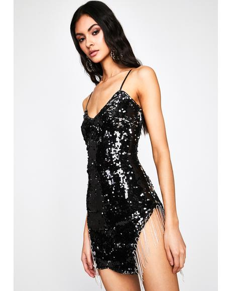 VIP Bottle Service Sequin Dress