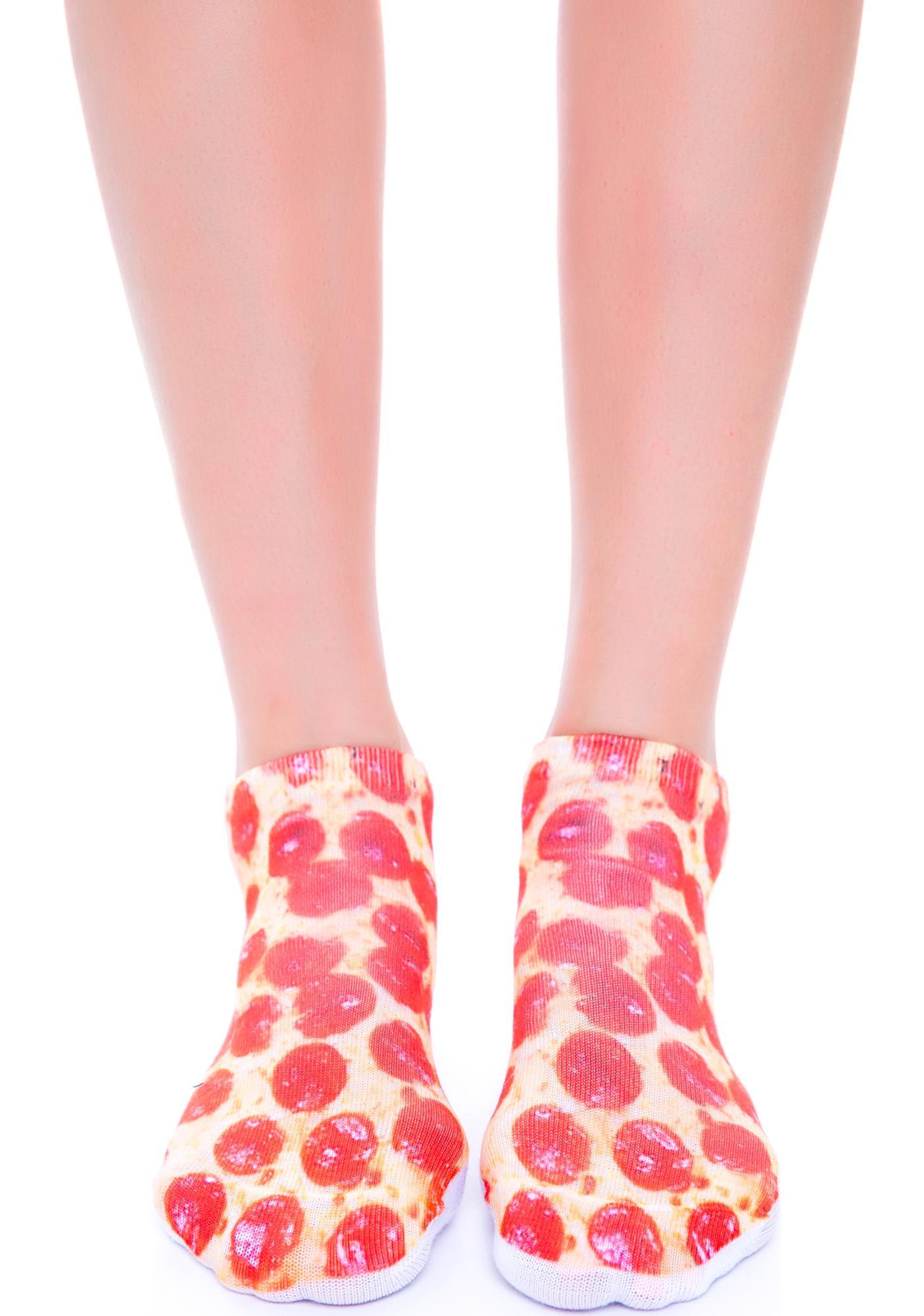Mystic Pizza Socks