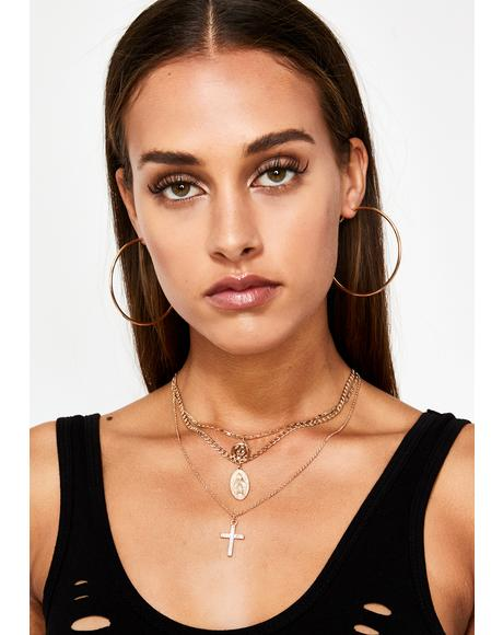 Divine BB Layered Necklace