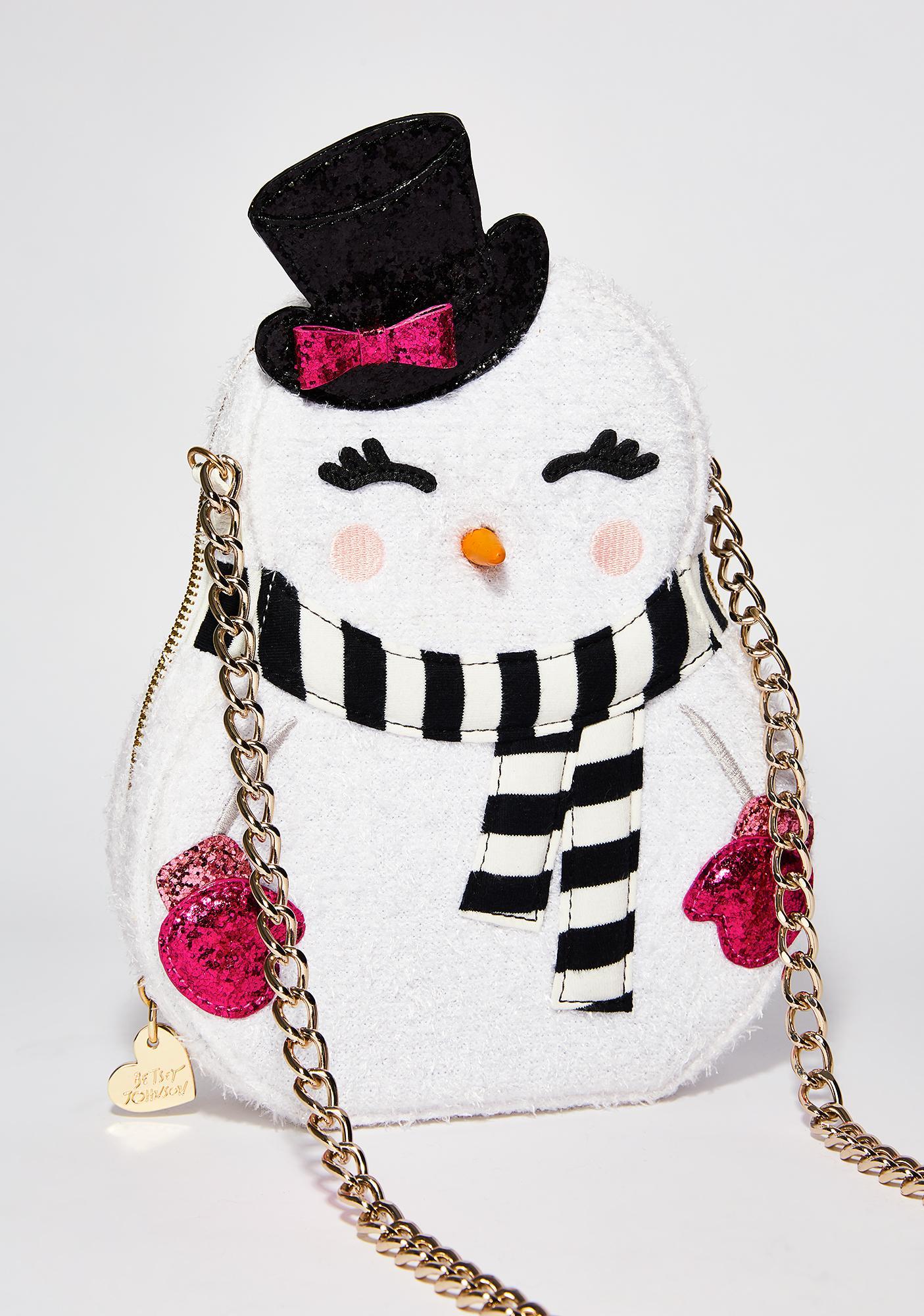 Betsey Johnson Snogal Crossbody Bag