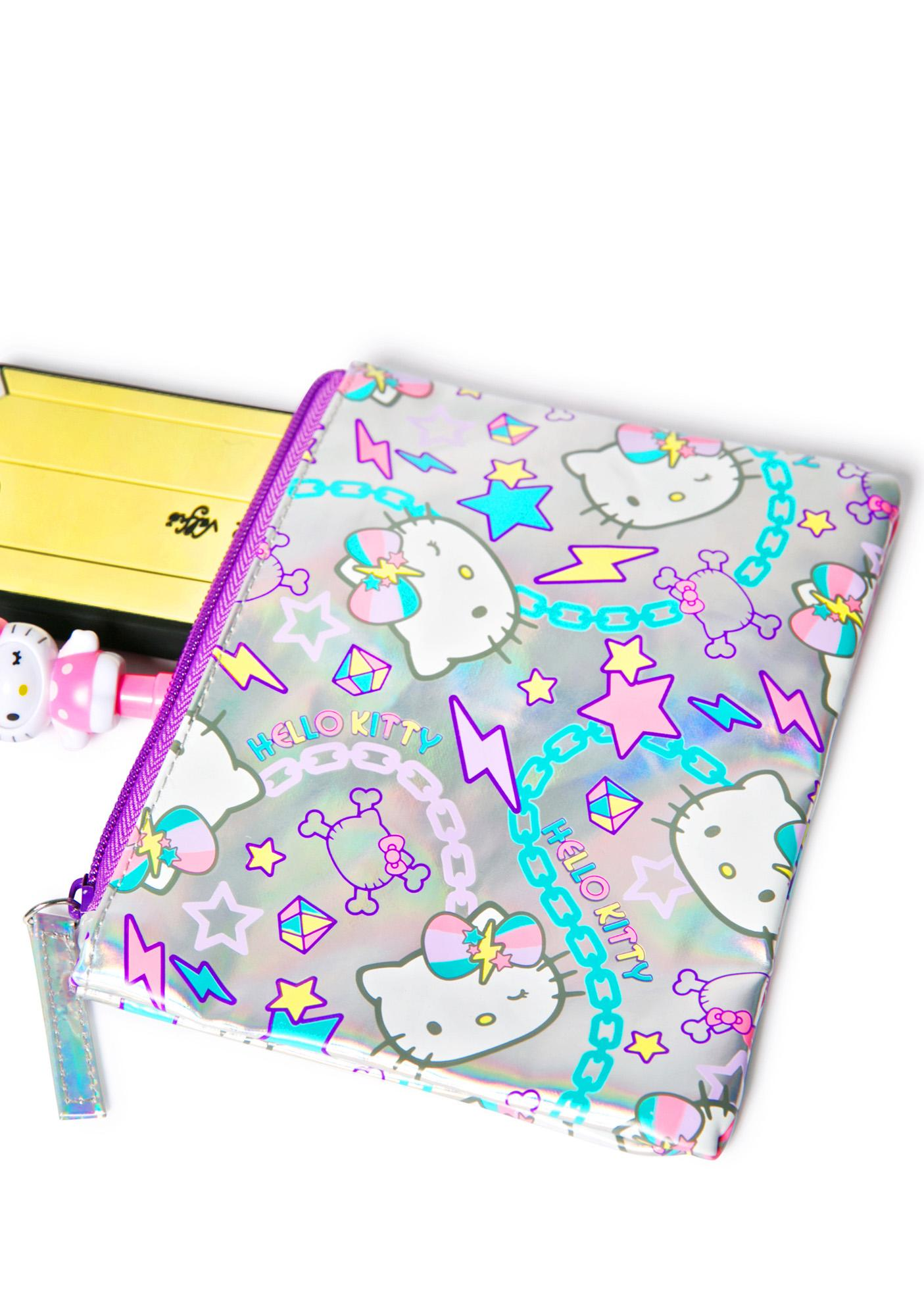 Sanrio Hello Kitty Pastel Pop Cosmetic Case