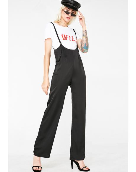 Lady Luxury Suspender Jumpsuit