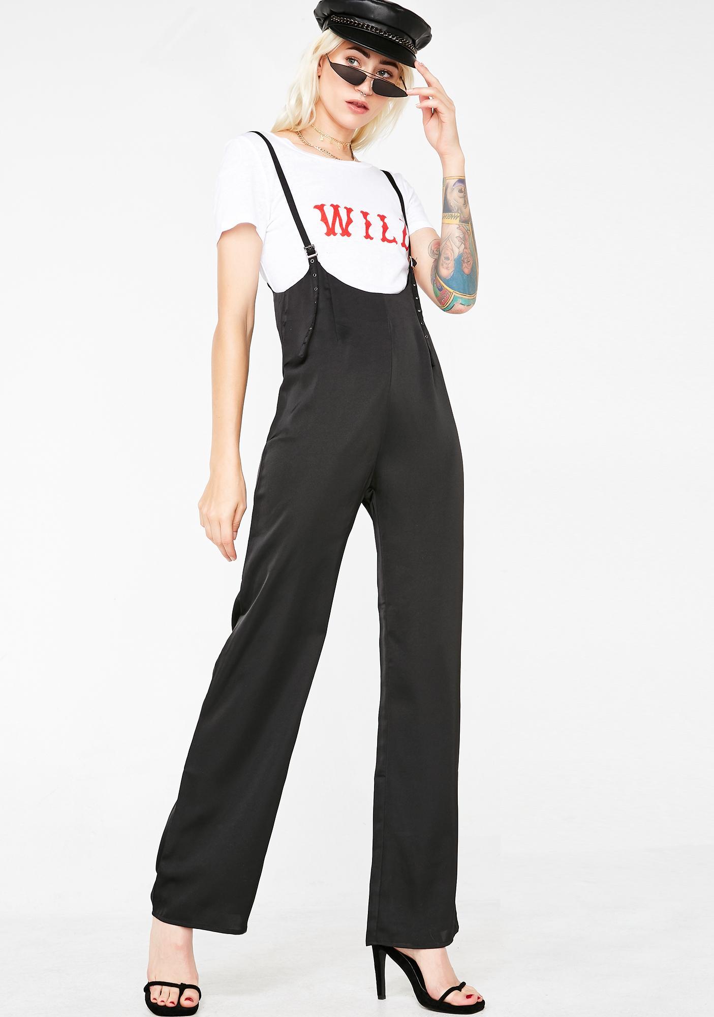 Lady Luxury Suspender Jumpsuit