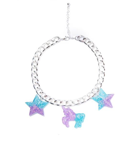 Fairy Flair Charm Choker