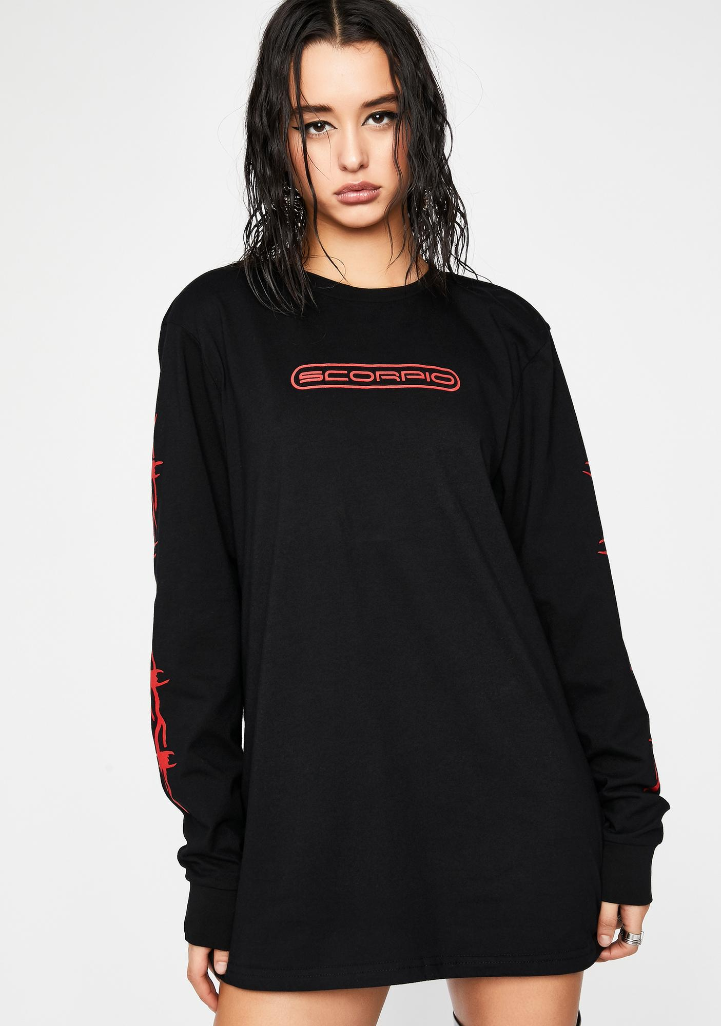 HOROSCOPEZ Boiling Blood Graphic Tee
