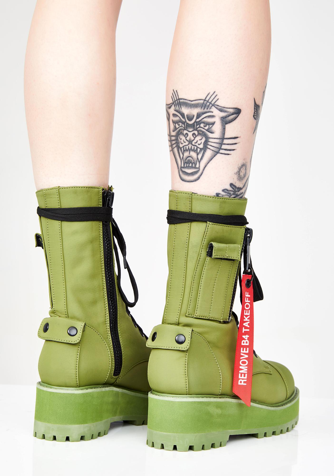 Poster Grl Fly Zone Platform Boots