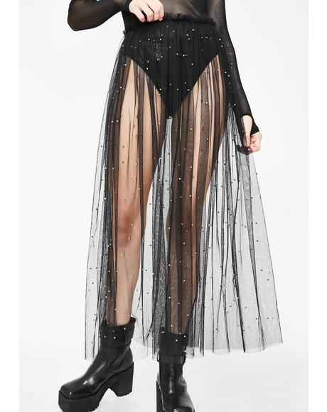 Raven Wild AF Tulle Skirt
