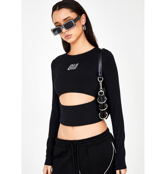 I AM GIA Charity Crop Top