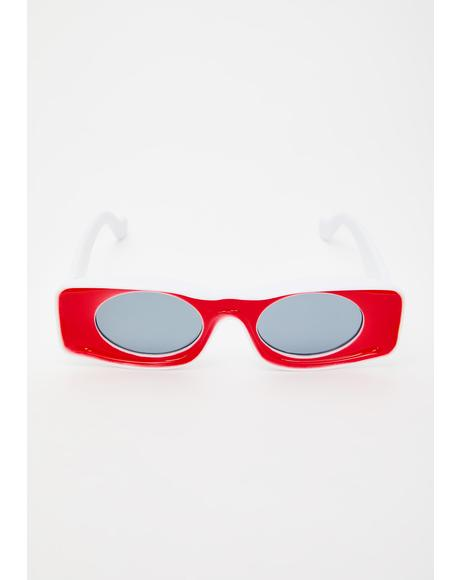 Picture This Rectangle Sunglasses