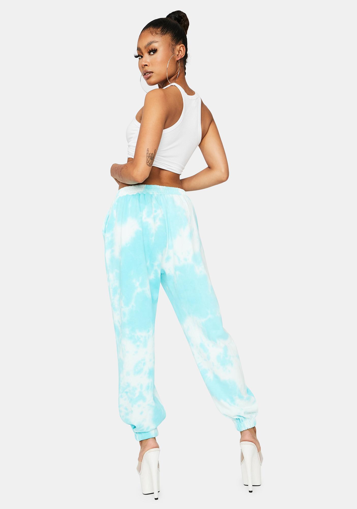 Plush Pleasers Tie Dye Sweatpants