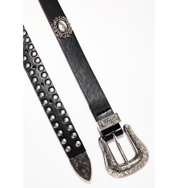Wildin' Out Embellished Belt