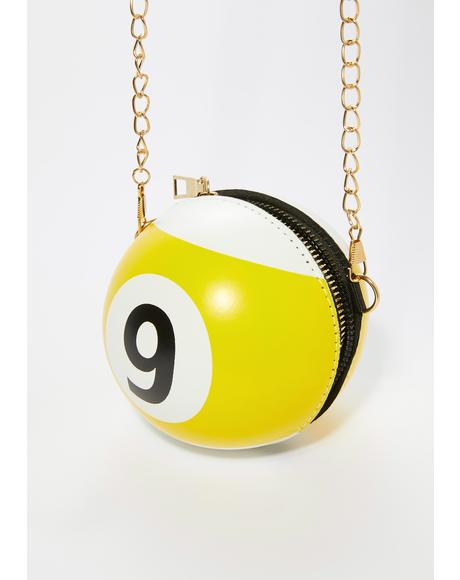 Rack It Up Billiards Ball Crossbody Bag