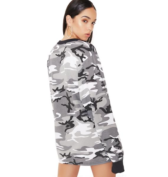 Urban Camo Long Sleeve Tee