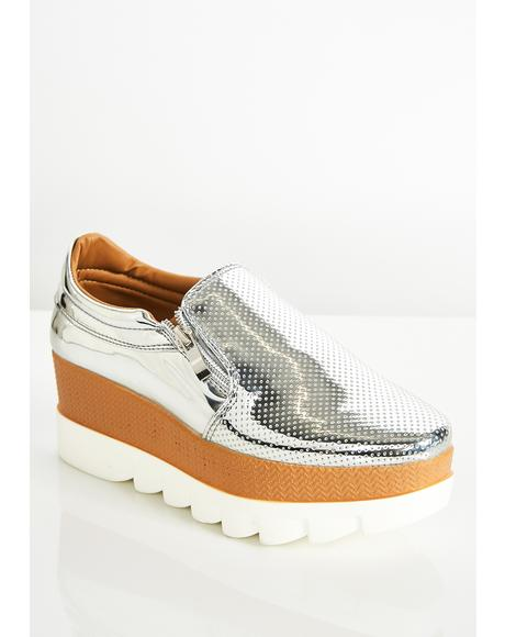 Sky High Metallic Loafer
