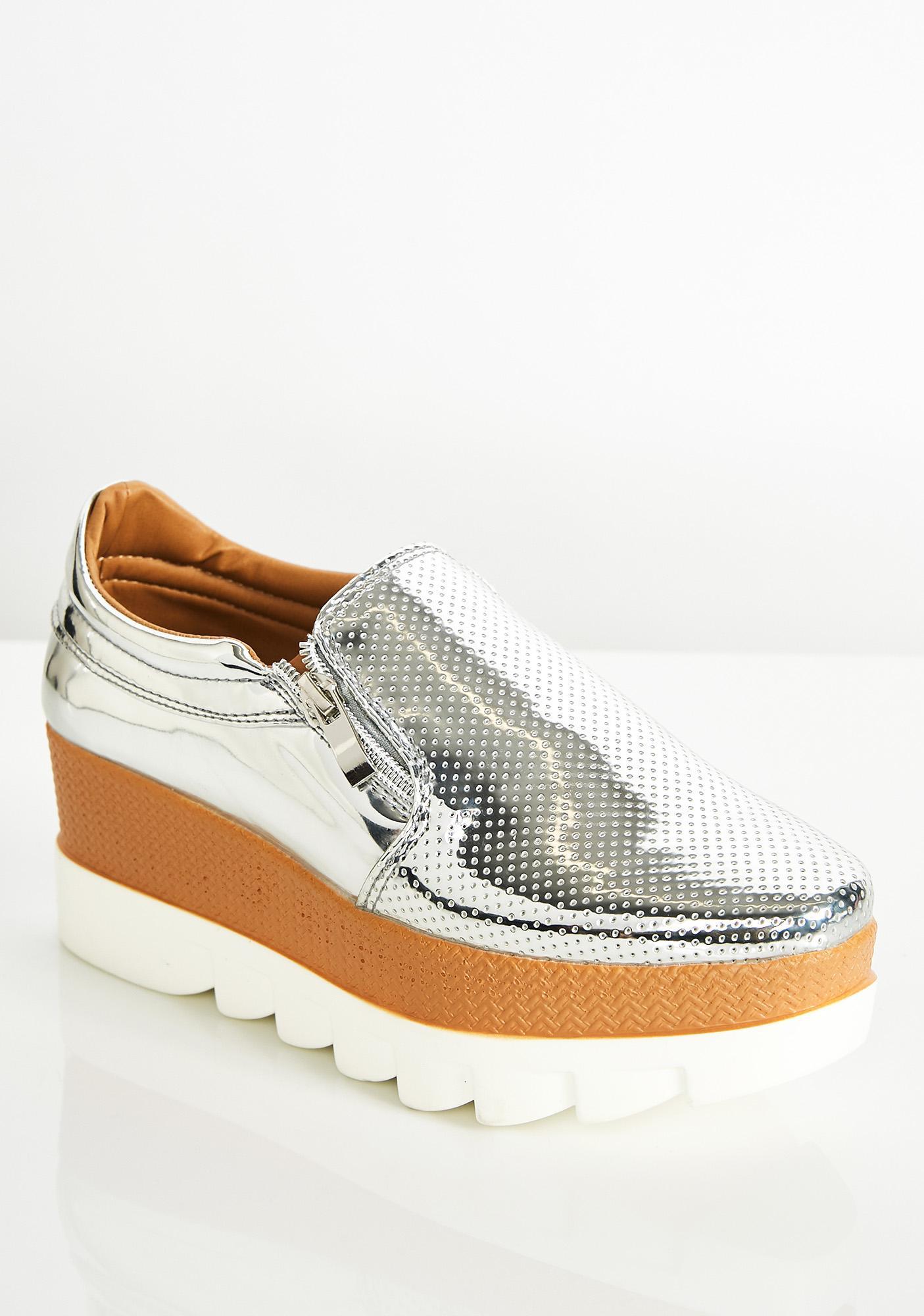 Sky High Metallic Loafer